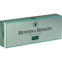 Benson & Hedges Menthol 100's Luxury Box cigarettes 10 cartons