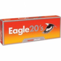 Eagle 20's Orange 100's Cigarettes 10 cartons