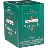 Nat Sherman Naturals Menthol Cigaretello cigarettes 10 cartons