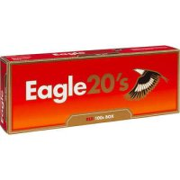 Eagle 20's Red 100's Cigarettes 10 cartons