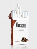 Manchester Superslims chocolate cigarettes 10 cartons