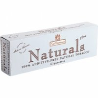 Nat Sherman Naturals Blue Kings cigarettes 10 cartons