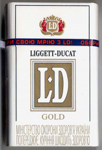 LD Gold Cigarettes 10 cartons