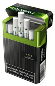 Dunhill Switch Black/ Green King Size cigarettes 10 cartons