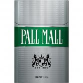Pall Mall Silver Menthol 85 Box cigarettes 10 cartons