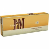 L&M Turkish Night 100's cigarettes 10 cartons
