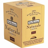 Nat Sherman Naturals Yellow Cube cigarettes 10 cartons