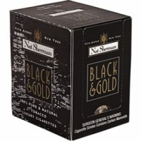 Nat Sherman Black & Gold cigarettes 10 cartons