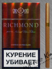 Richmond Coffee slim cigarettes 10 cartons