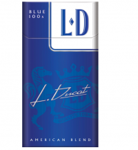 L D Blue 100s Box cigarettes 10 cartons