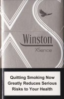 WINSTON XSENCE WHITE (MINI) cigarettes 10 cartons