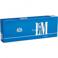 L&M Blue Pack 100's Cigarettes 10 cartons
