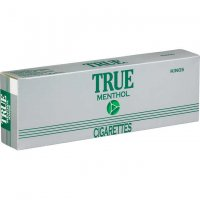 True Menthol Kings Soft Pack cigarettes 10 cartons