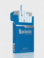 Manchester Queen blue cigarettes 10 cartons