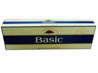 Basic Blue Ultra Light Kings Box cigarettes 10 cartons