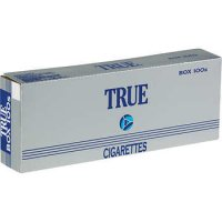 True 100's Box cigarettes 10 cartons
