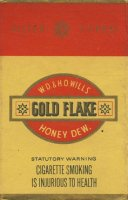 Gold Flake W.D. & H.O. Wills Honey Dew. Filter Tipped (Statutory