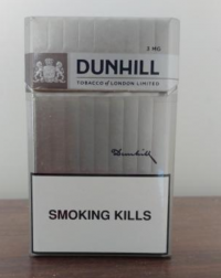 Dunhill Silver Flow Filter 3MG cigarettes 10 cartons