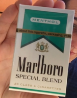 Marlboro Special Blend Menthol Green box cigarettes 10 cartons