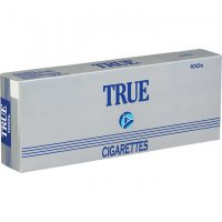 True 100's Soft Pack cigarettes 10 cartons
