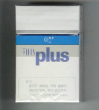 This Plus hard box cigarettes 10 cartons