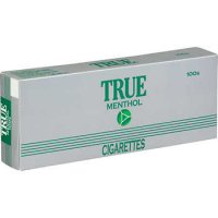 True Green Menthol 100's Box cigarettes 10 cartons