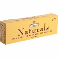 Nat Sherman Naturals Yellow Kings cigarettes 10 cartons