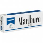 Marlboro Menthol Blue Pack 100's box cigarettes 10 cartons