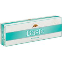 Basic Menthol Silver Pack Box cigarettes 10 cartons