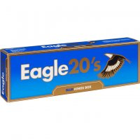 Eagle 20's Kings Blue Box cigarettes 10 cartons