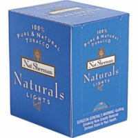 Nat Sherman Naturals Blue Cube cigarettes 10 cartons