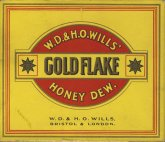 Gold Flake W.D. & H.O. Wills' Honey Dew. W.D. & H.O. Wills