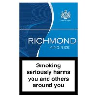 Richmond Blue King Size Cigarettes 10 cartons