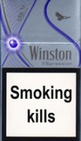 WINSTON XSPRESSION PURPLE cigarettes 10 cartons