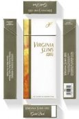 Virginia Slims 120's Gold cigarettes 10 cartons