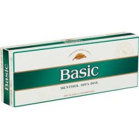 Basic Menthol Gold 100's cigarettes 10 cartons