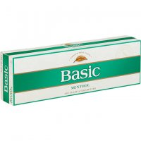 Basic Menthol Gold Box cigarettes 10 cartons