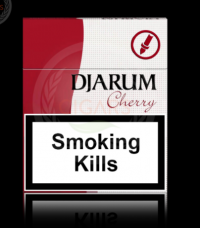 Djarum Cherry cigarettes 10 cartons