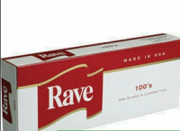 Rave Red 100's cigarettes 10 cartons