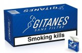 Gitanes Brunes Non Filter cigarettes 10 cartons