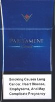 PARLIAMENT CARAT BLUE cigarettes 10 cartons