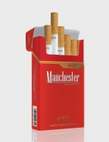 Manchester Queen red cigarettes 10 cartons