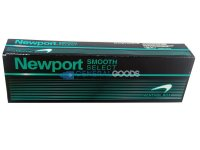 Newport Smooth Select Menthol Kings Box Cigarettes 10 cartons