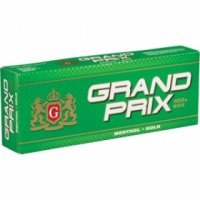 Grand Prix Menthol Gold 100's cigarettes 10 cartons