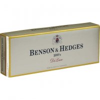 Benson & Hedges 100's DeLuxe Menthol box cigarettes 10 cartons