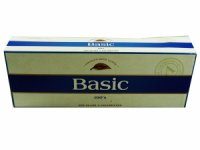 Basic Blue Ultra Lights 100'S Box cigarettes 10 cartons