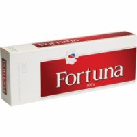 Fortuna Red 100's cigarettes 10 cartons