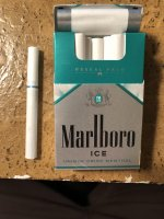 Marlboro ice reseal pack cigarettes 10 cartons