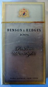 Benson & Hedges 100's DeLuxe Ultra Lights cigarettes 10 cartons