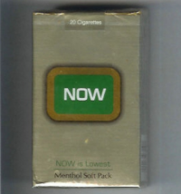 Now Now is Lowest Menthol soft box cigarettes 10 cartons